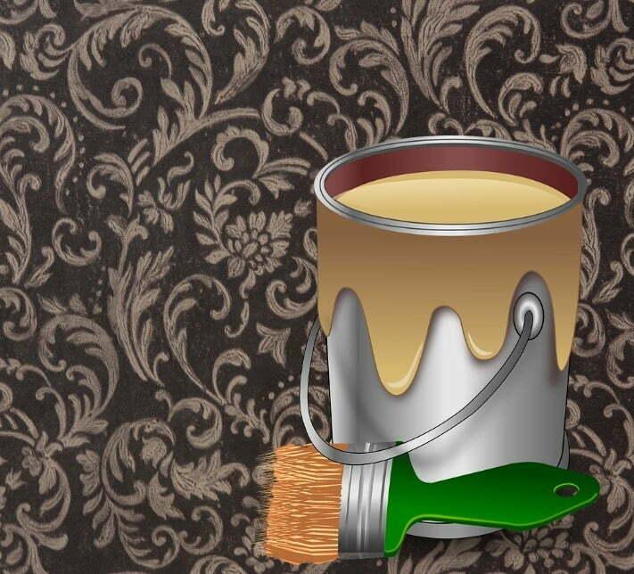 Pintura ou papel de parede qual o melhor e qual o custo for Papel de pared para pintar
