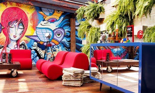 Grafite em residencias