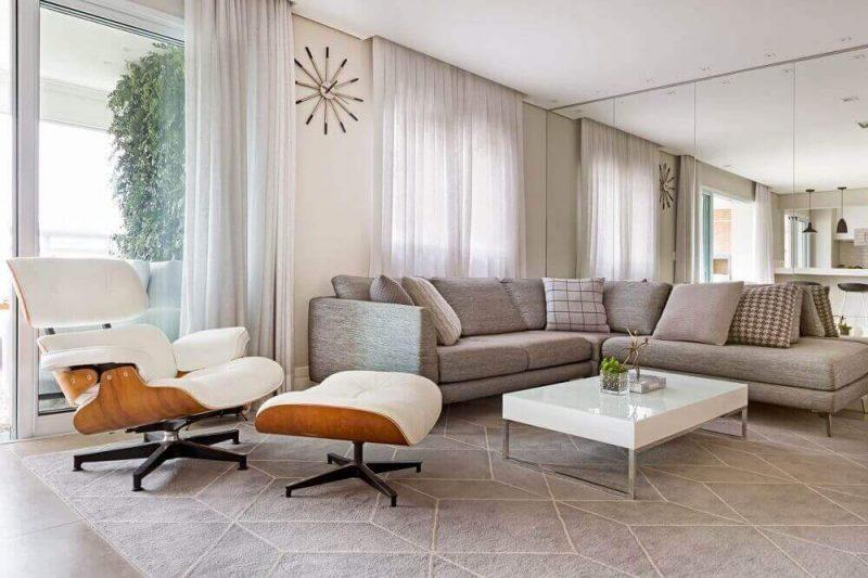Decoração com sofá
