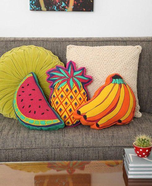 Frutas na decoração